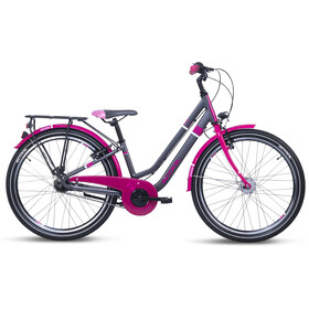 s'cool chiX twin alloy 24 7-S Bambino, blackberry